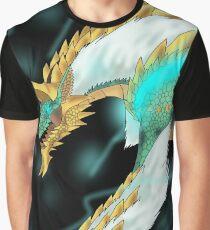 Thunder Wolf Wyvern Zinogre Graphic T-Shirt