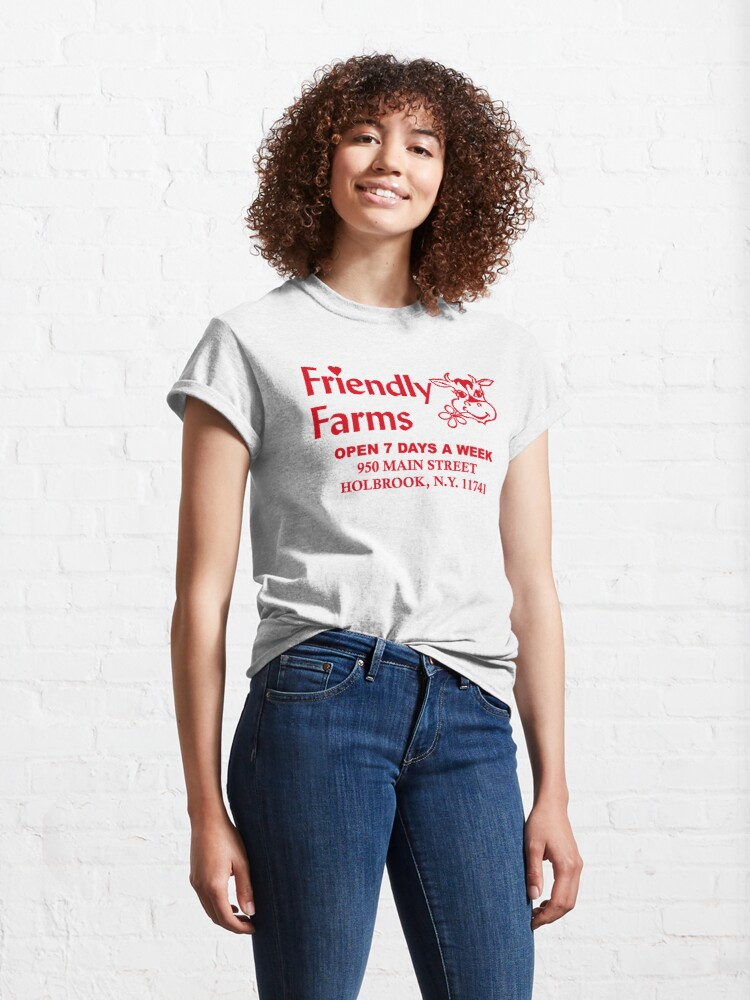 Alternate view of Friendly Farms Food Store - Holbrook, New York Classic T-Shirt