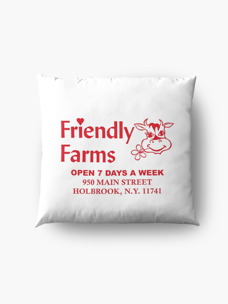 Alternate view of Friendly Farms Food Store - Holbrook, New York Floor Pillow