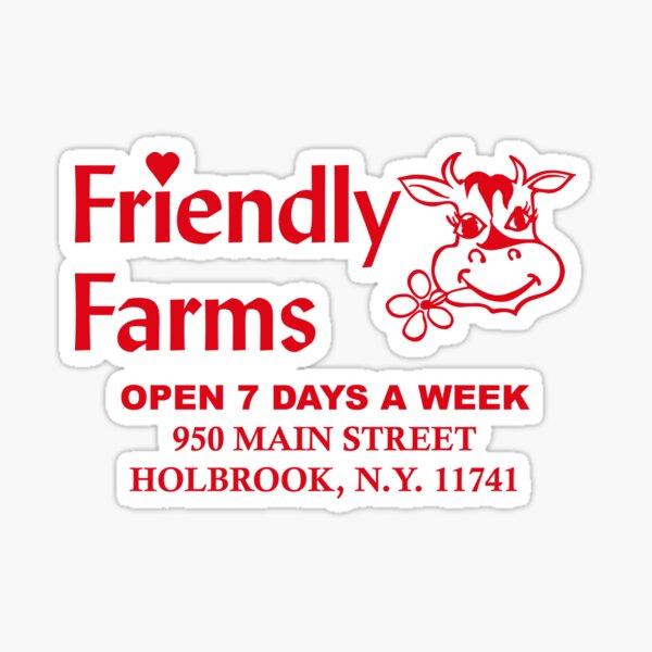 Friendly Farms Food Store - Holbrook, New York Sticker