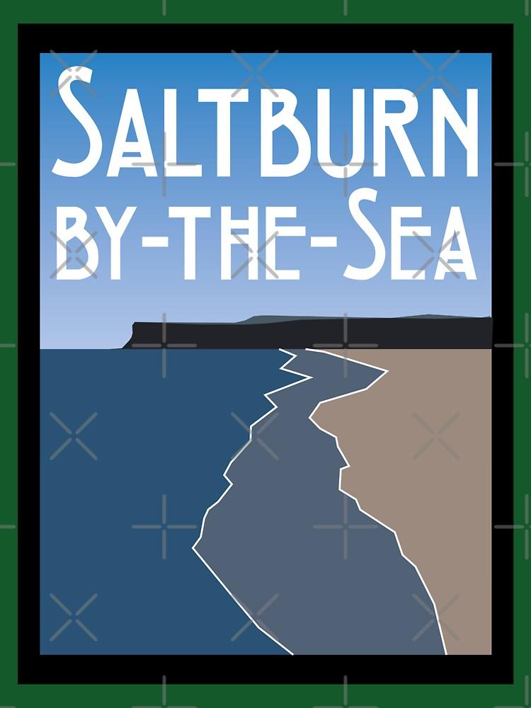 NDVH Saltburn Beach - Art Deco by nikhorne