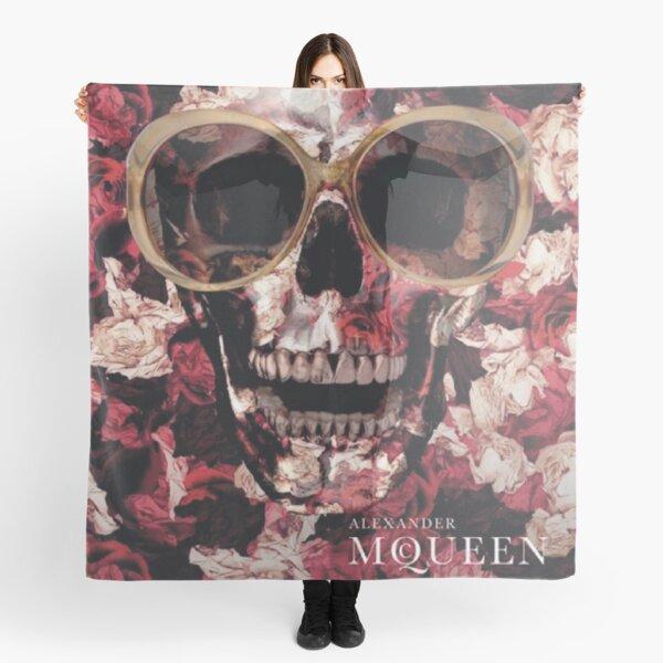 Alexander McQueen - Skull Logo Scarf