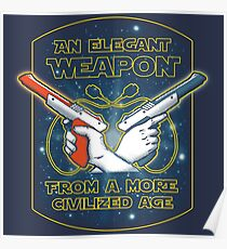 Elegant Weapon Poster