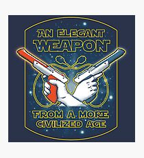 Elegant Weapon Photographic Print