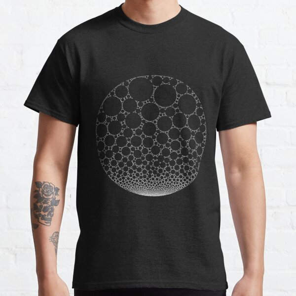 Abstract White Bubbles #4 Classic T-Shirt