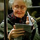 On The Subway by Michael J Armijo