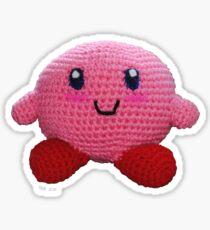 Amigurumi Kirby Sticker