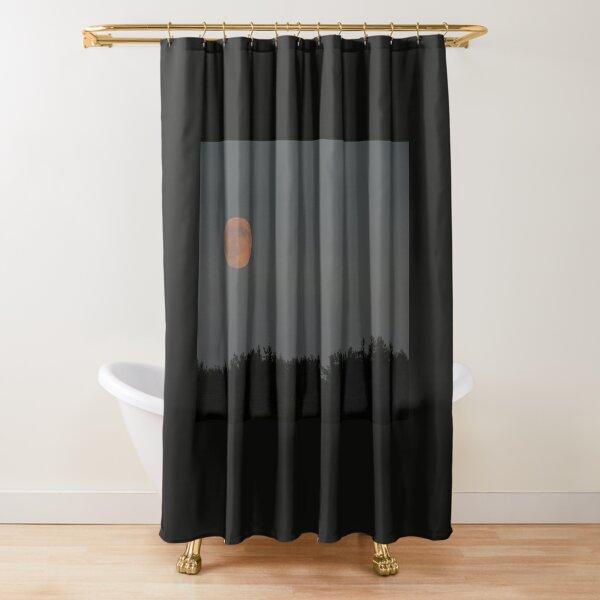 Peach Moon Shower Curtain