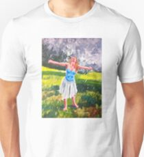Dancing in the rain Unisex T-Shirt