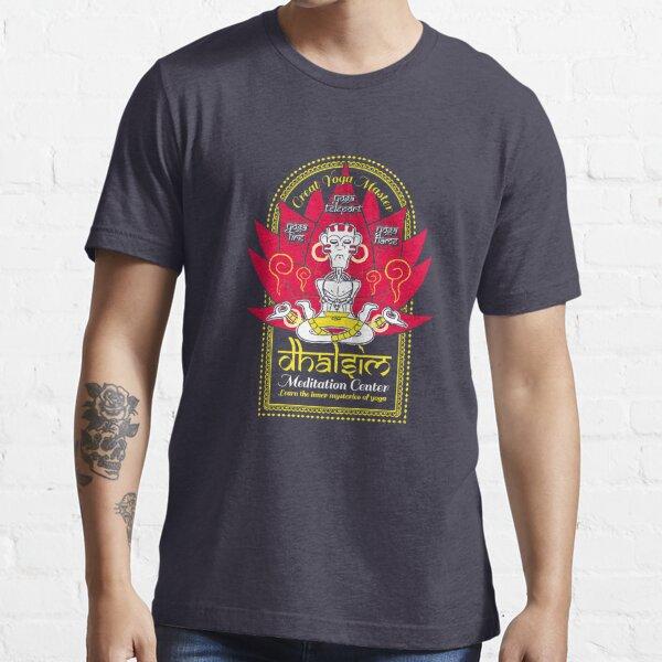 Dhalsim Meditation Center Essential T-Shirt