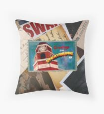 Greetings From Storybrooke Post Card Throw Pillow
