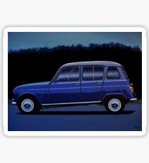 Renault 4 Painting Sticker