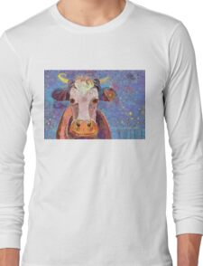 THE COW WITH THE CRUMPLED HORN Long Sleeve T-Shirt
