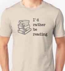 Ich würde lieber lesen Slim Fit T-Shirt