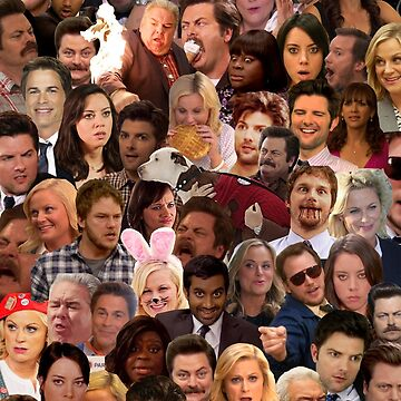 Parks and Rec <3 <3 <3 <3 by lookitsmia