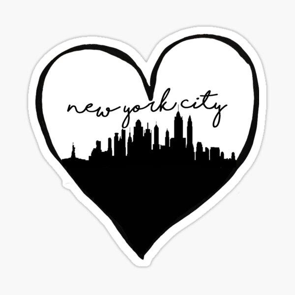 NYC Love Sticker