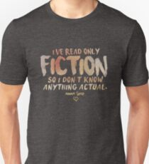 I've Read Only Fiction - Anna Torv (Red) Unisex T-Shirt