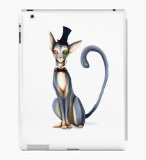 Monocle Kitty iPad Case/Skin