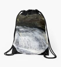 Water Fall Drawstring Bag