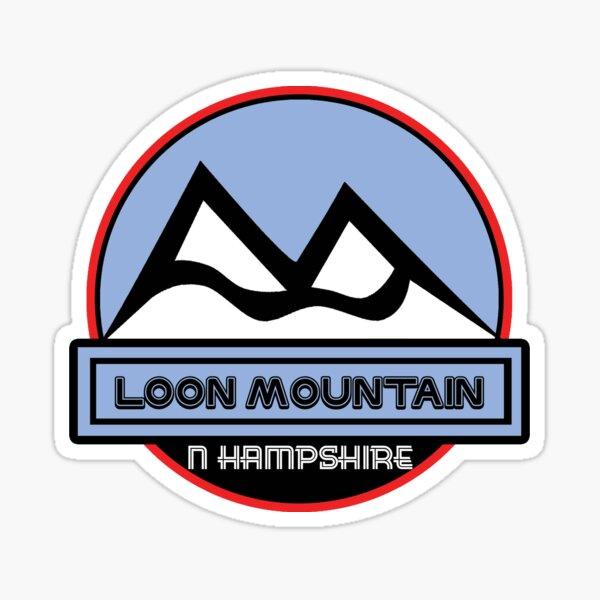 Loon Mtn Sticker Skiing