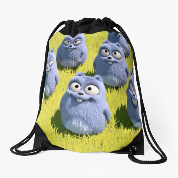 Grizzy and the Lemmings  Drawstring Bag