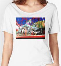 The Carousel Horsey's Secret Women's Relaxed Fit T-Shirt