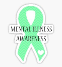 Mental Illness - Chevron Sticker