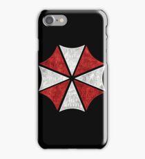 Resident Evil Umbrella Typography iPhone Case/Skin