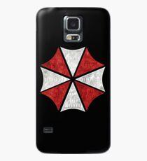 Resident Evil Umbrella Typography Case/Skin for Samsung Galaxy