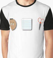 The Rock, Paper, scissors Graphic T-Shirt