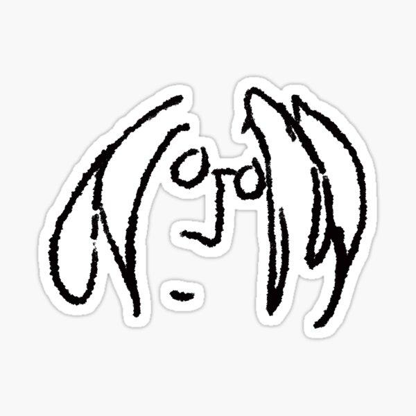 John Lennon Doodle Sticker