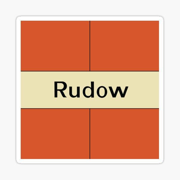 Rudow Station Tiles (Berlin) Sticker