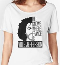 Vote For Jefferson Women's Relaxed Fit T-Shirt