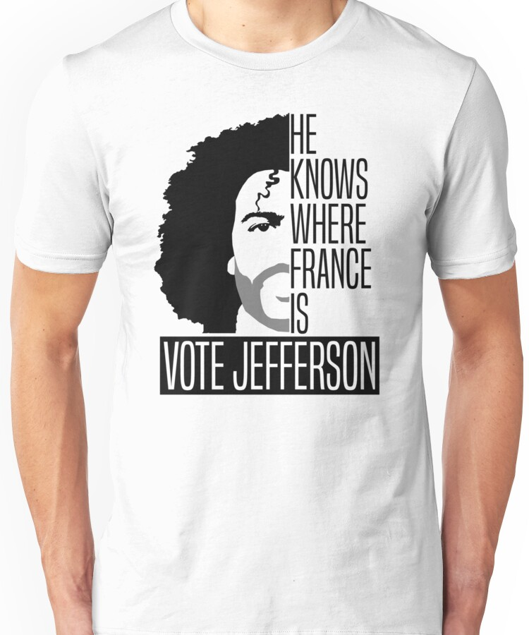 Hamilton Musical Vote For Jefferson shirt