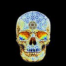 Psychedelic Skull by TrippyCat