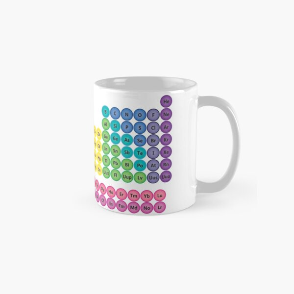 Periodic Table of Element Icons Classic Mug