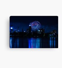 New Years Canvas Print