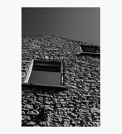 Abandoned Building - Elora, Ontario Photographic Print