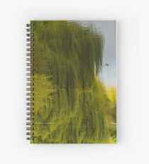 Reflected Willow Spiral Notebook