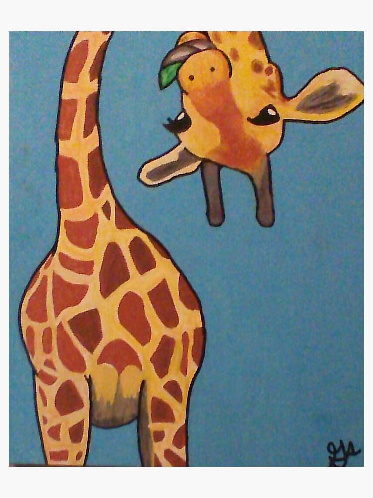 giraffe by WolfyWolf01