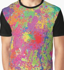 Modern Neon Pollock by Rhode Island Arts Graphic T-Shirt