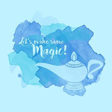 Genie Lamp - Magic Quote by ShoeboxMemories