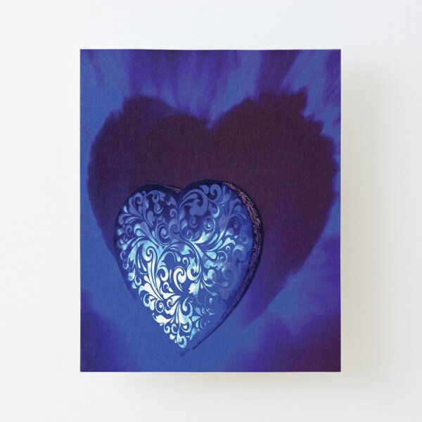 Love at the End of Time Canvas Mounted Print