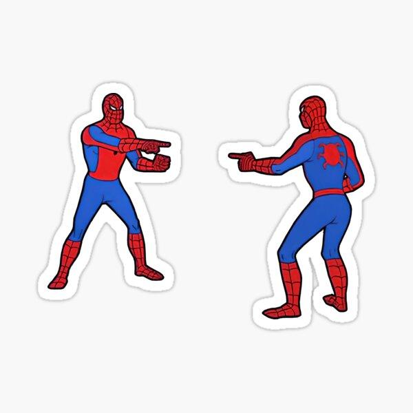 Spider-Man Pointing Sticker