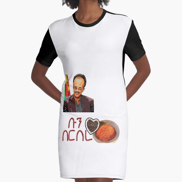 Érythréen Fun Berbere Boon Food Habesha Robe t-shirt