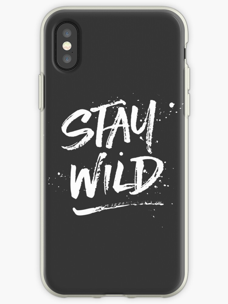 Stay Wild - White by hattieandjane
