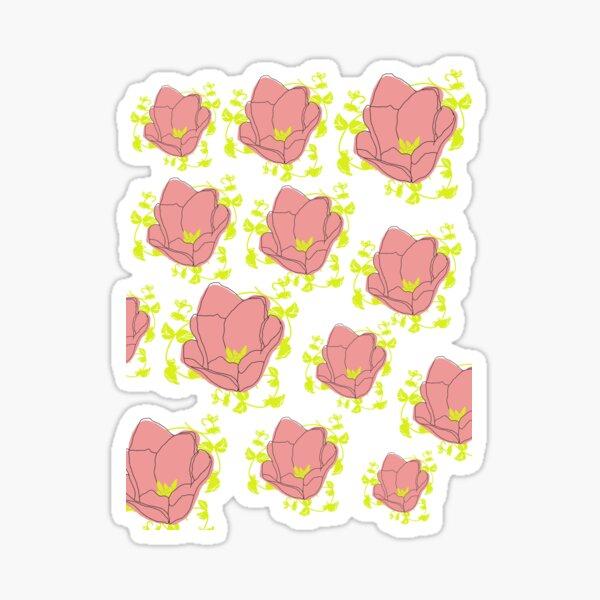 Yellow Summer Sticker