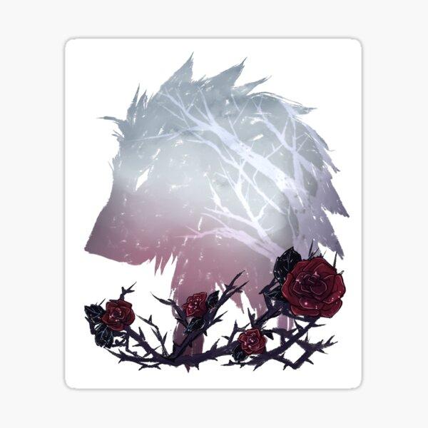 A Wolf Among Thorns Sticker