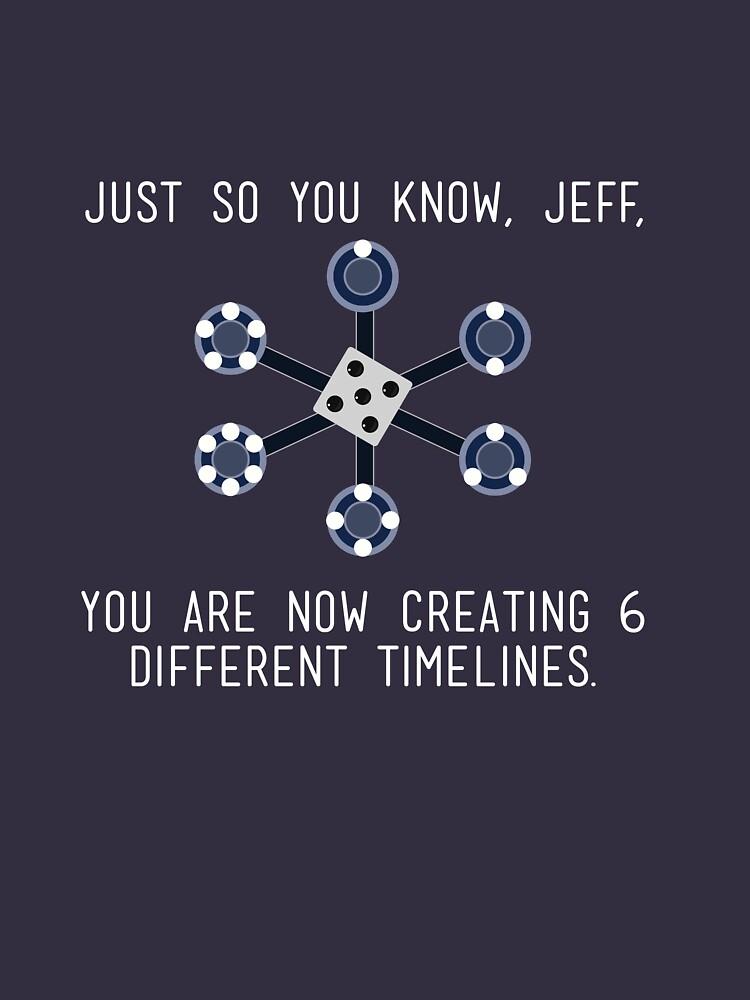 Community: Different Timelines   Unisex T-Shirt