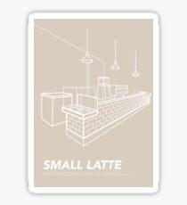 Melbourne Icon - Cafe Sticker